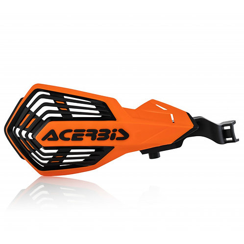 ACERBIS K FUTURE HANDGUARDS ORANGE/BLACK