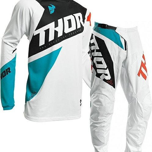 2020 Thor MX Sector BLADE - Aqua/White
