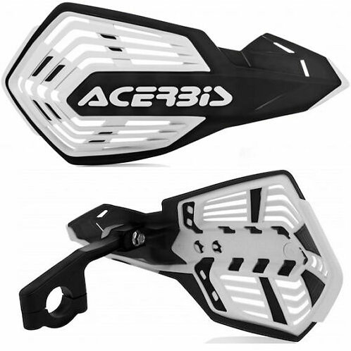 ACERBIS X-FUTURE HANDGUARDS BLACK/WHITE