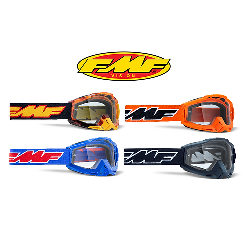 FMF POWERBOMB YOUTH GOGGLES - CLEAR LENS