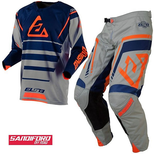 ANSWER ELITE FORCE KIT - GREY/ORANGE