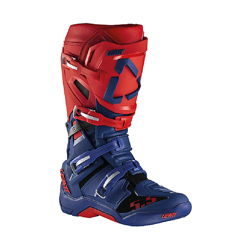LEATT GPX 5.5 MX BOOTS - RED/BLUE