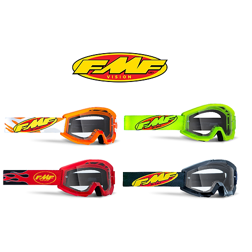 FMF POWERCORE YOUTH GOGGLES - CLEAR LENS