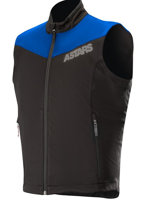 ALPINESTARS SESSION RACE GILLET - BLUE/BLACK