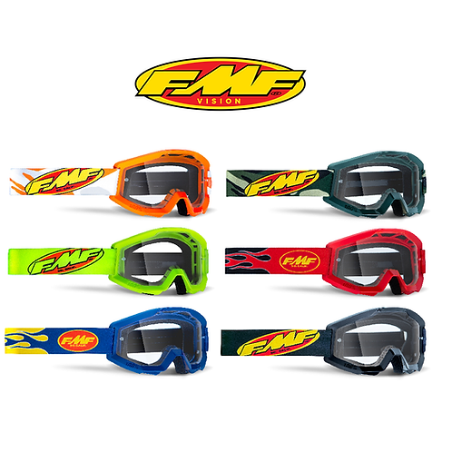 FMF POWERCORE ADULT GOGGLES - CLEAR LENS