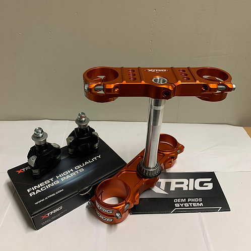 XTRIG ROCS TECH TRIPLE CLAMPS & PHDS BAR MOUNTS KTM SX SXF