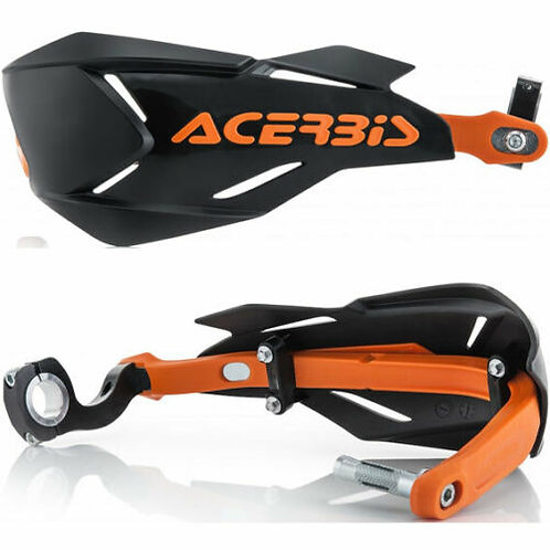 ACERBIS X FACTORY WRAP AROUND HANDGUARDS ORANGE