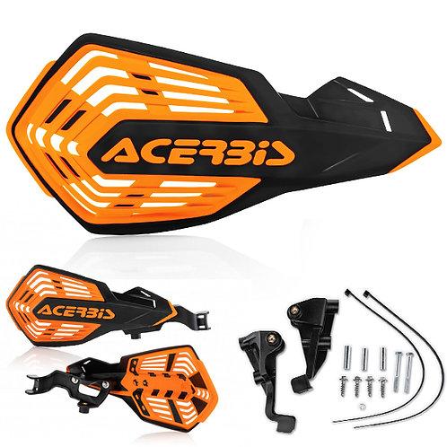 ACERBIS K FUTURE HANDGUARDS BLACK/ORANGE