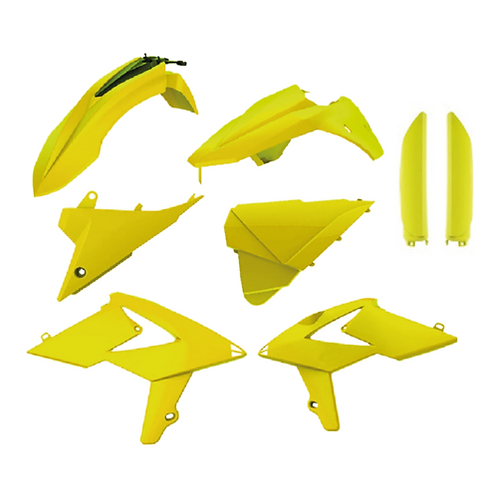 POLISPORT PLASTIC KIT KIT BETA RR 13-17 FLO YELLOW