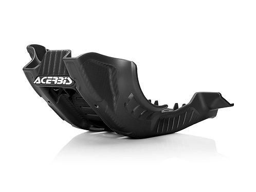 ACERBIS SKID PLATE BLACK WHITE - KTM EXC 250 300 2020 2021 2022