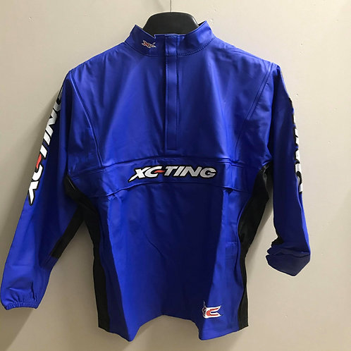 XC-TING WATERPROOF JACKET BLUE/BLACK (YOUTH)