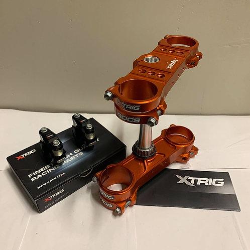 XTRIG ROCS TECH TRIPLE CLAMPS & PHDS BAR MOUNTS KTM EXC