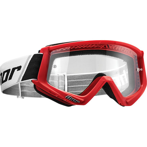 THOR COMBAT GOGGLES ADULT - RED