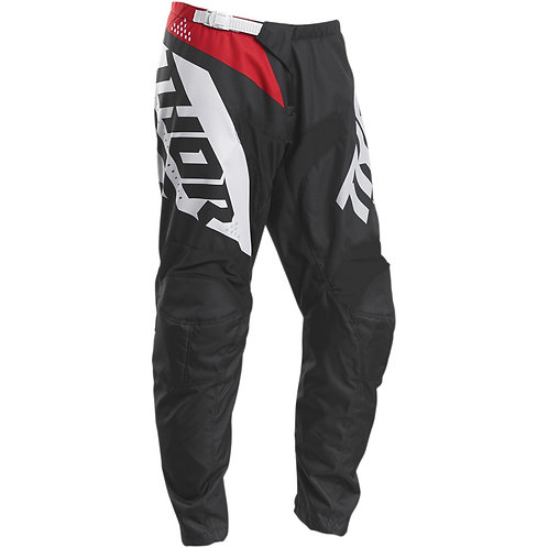 2020 THOR SECTOR BLADE PANTS RED/BLACK