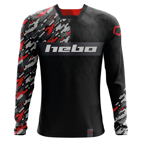 2020 HEBO JERSEY - CAMO RED
