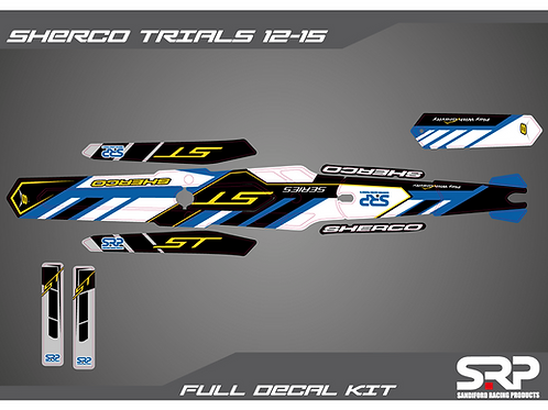 SRP SHERCO TRIALS DECAL / STICKER KIT ST 125/250/300CC