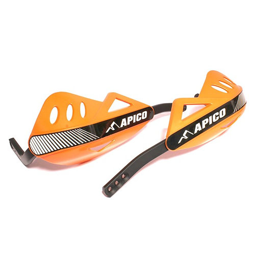 APICO WRAP AROUND HANDGUARDS ORANGE/BLACK
