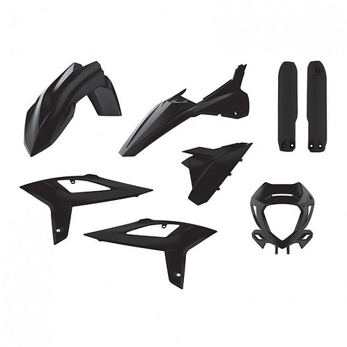 FULL PLASTIC KIT BETA RR 2T & 4T  2020-2021 BLACK