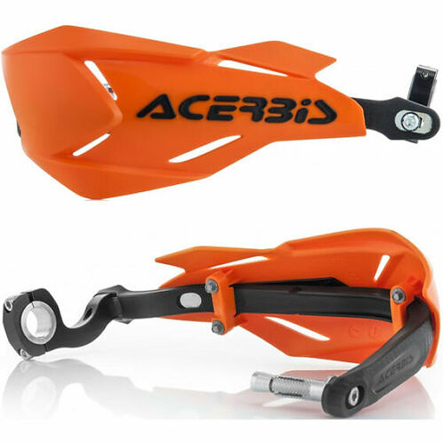 ACERBIS X FACTORY WRAP AROUND HANDGUARDS ORANGE