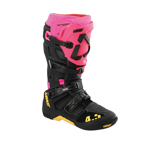 LEATT 4.5 MX BOOTS - BLACK/PINK