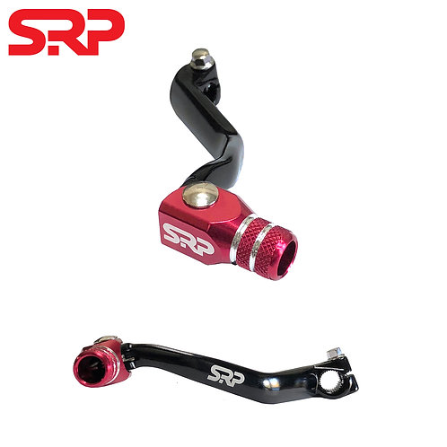 SRP MONTESA TRIALS BIKE GEAR PEDAL LEVER - BLACK/RED (315R 97-04, 4RT 05-19)