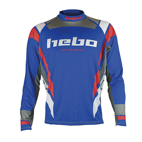 2021 HEBO PRO JERSEY - BLUE/RED