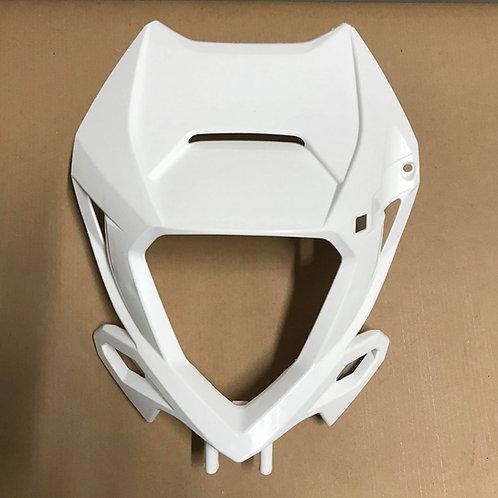 GENUINE HEADLIGHT MASK PLASTIC WHITE - BETA RR 20-21