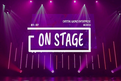 'On Stage' (CGE Instrumental)[Tagged Limited Lease](Read the description)