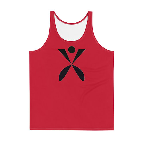 'Red Rose' Unisex Tank Top copy copy copy