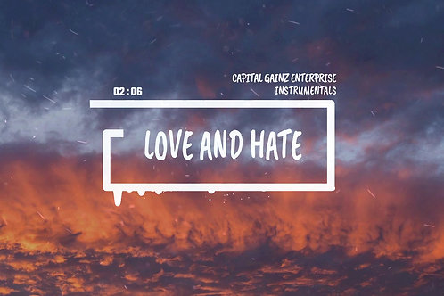 'Love and Hate' (CGE Instrumental)[Tagged Limited Lease](Read the description)