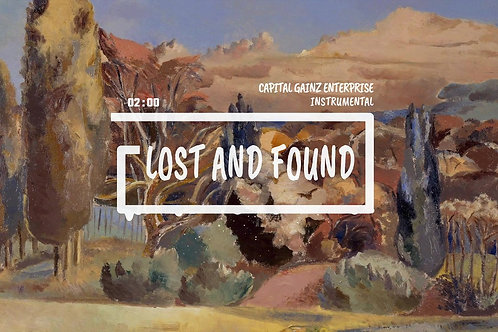 'Lost and Found' (CGE Instrumental)[Tagged Limited Lease](Read the description)