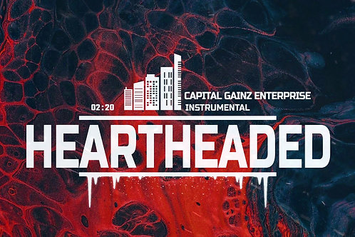 'Heartheaded'(CGE Instrumental)[Tagged Limited Lease](Read the description)