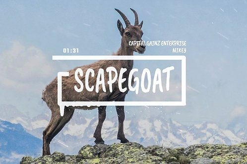 'Scape Goat' (CGE Instrumental)[Tagged Limited Lease](Read the description)