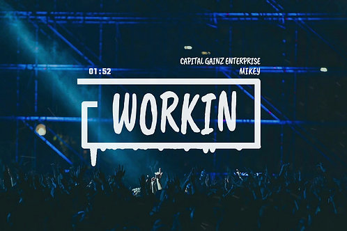 'Workin'(CGE Instrumental)[Tagged Limited Lease](Read the description)