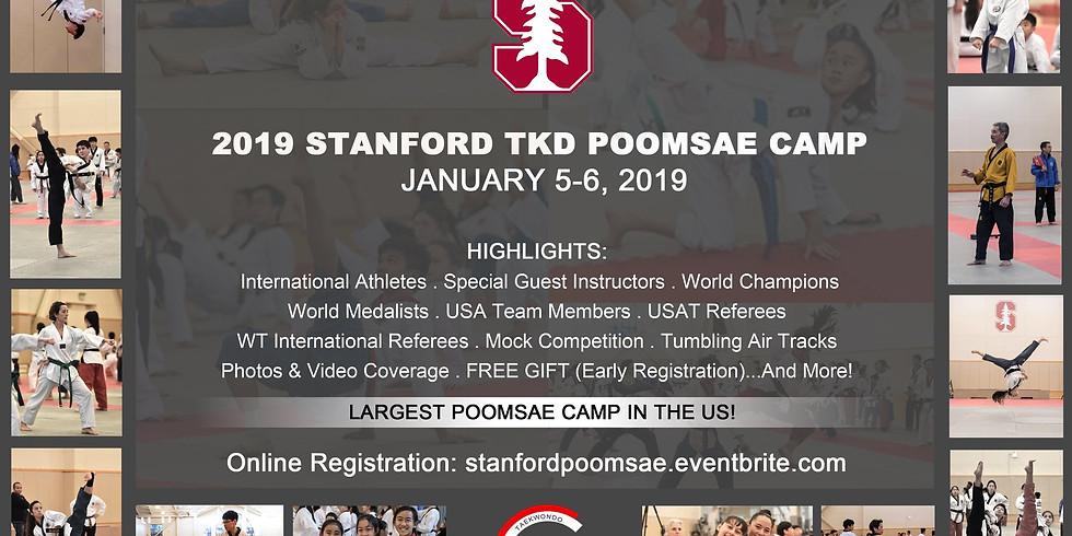 Stanford Poomsae Camp, Jan.5-Jan.6