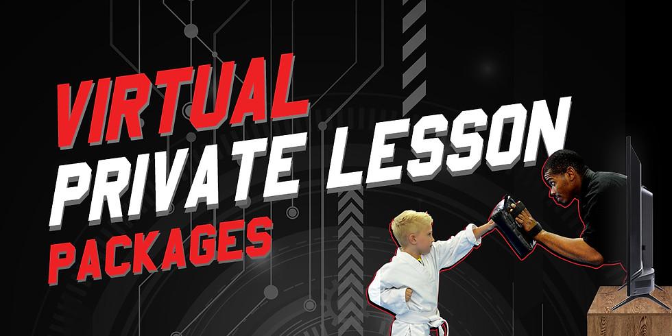 Virtual Private Lesson w/ Promotion