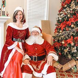Nov 27 photos with Santa