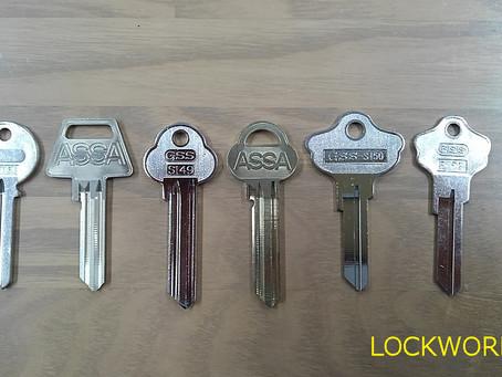 スペアーキー 輸入住宅用鍵 作製致します 富山の鍵屋