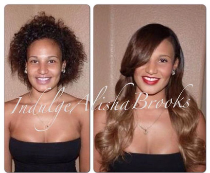 Ombre Fusion Hair Extensions