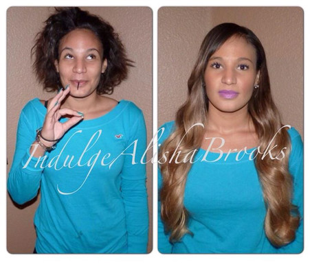 Ombre Sew-In Weave