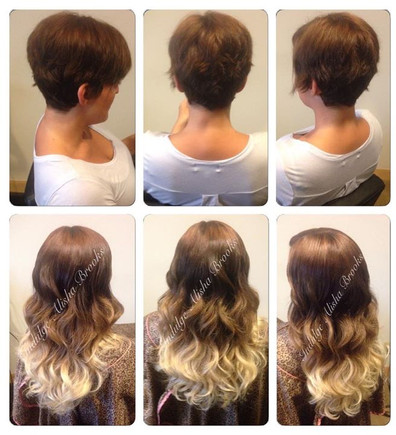 Two sets 16 inch ombre Clipins.jpg 14 pi