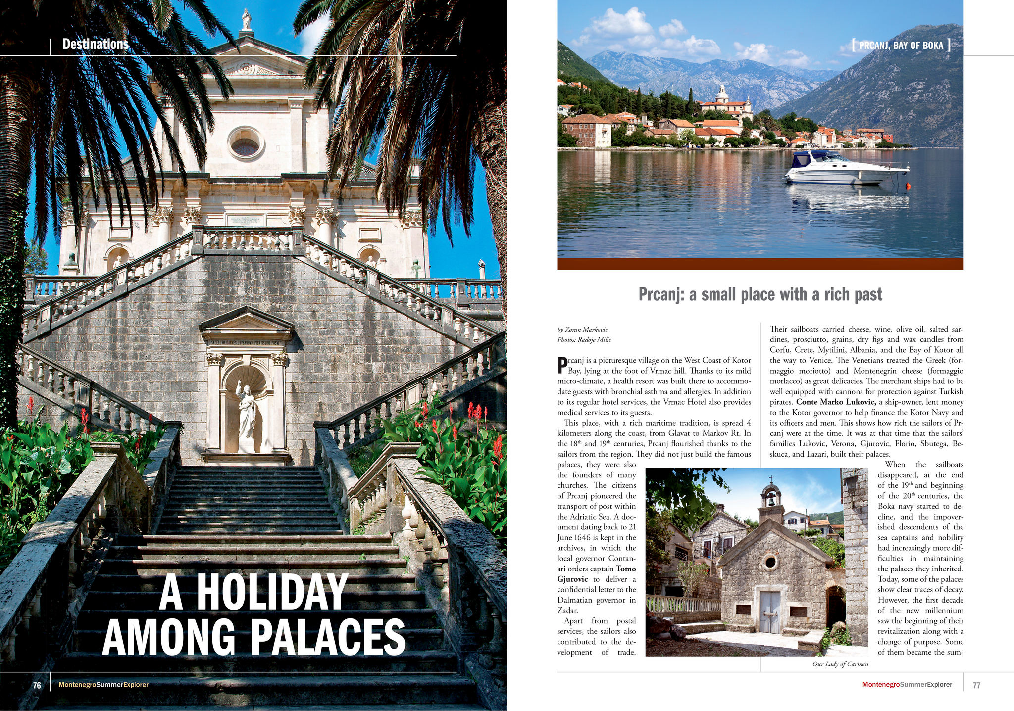 A Holiday among palaces