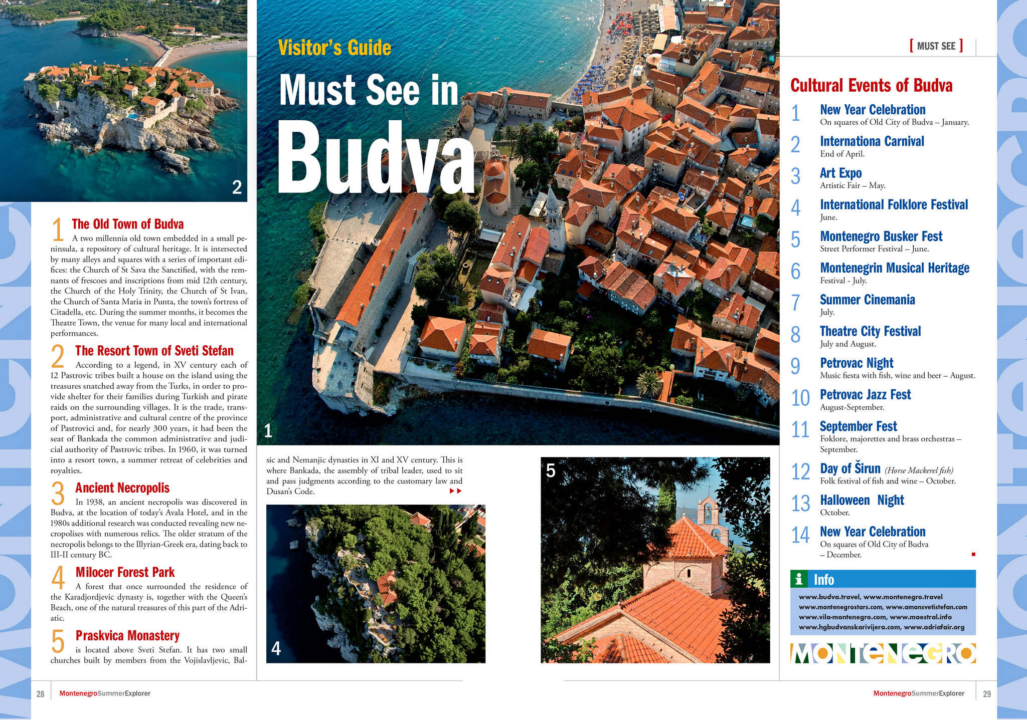 Must see in Budva