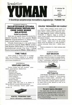 94 YUMAN  Newsletter 001 SMALL