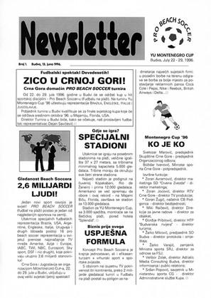 Newsletter 1996
