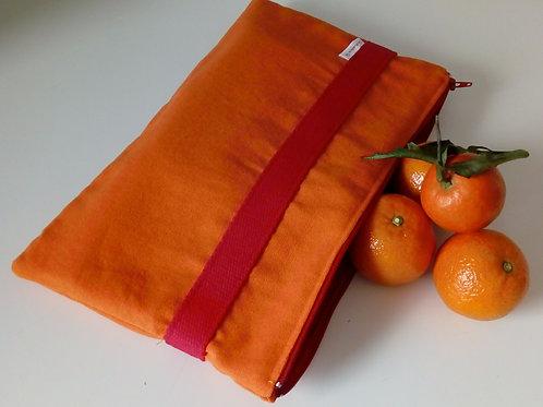 """Pochette """"Orange et Rouge"""""""