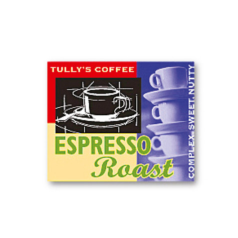 tully's coffee | espresso label