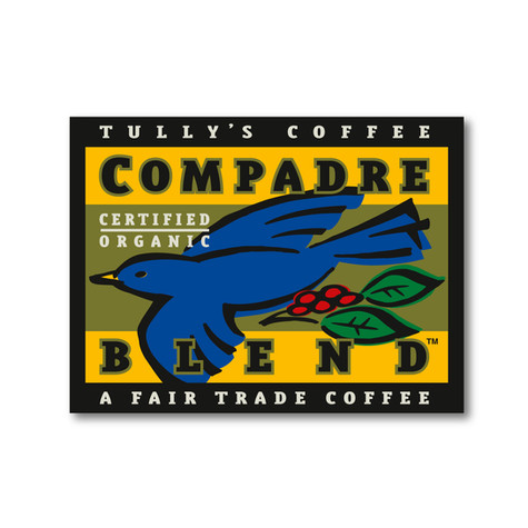 tully's coffee | compadre label