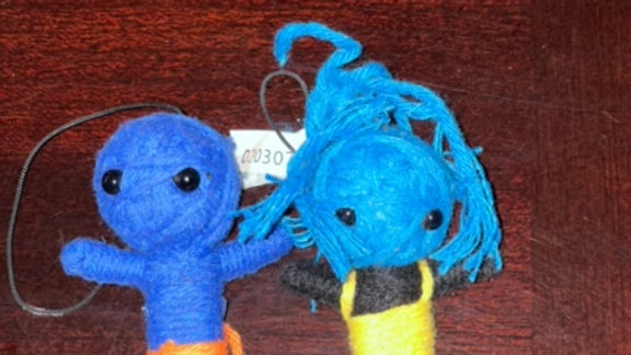Reiki Charged Poppets /Voodoo Dolls