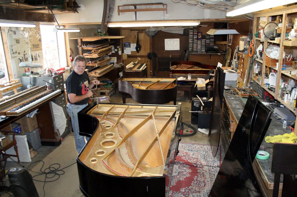 Mendocino Piano Workshop